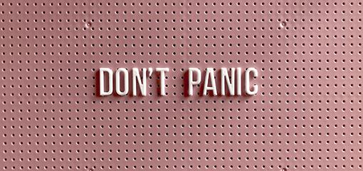 Manejo del ataque de pánico